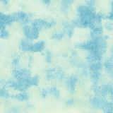 Blue watercolor cloud and sky. Royalty Free Stock Images
