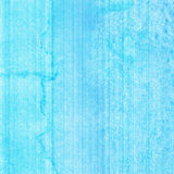Blue watercolor on paper Royalty Free Stock Photography