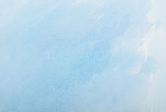 Blue watercolor paper texture Stock Photo