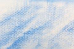 Blue watercolor paper texture Stock Photos