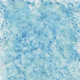 Blue watercolor splashes Stock Photos