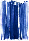 Blue watercolor stroke background Royalty Free Stock Photography