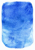 Blue watercolor texture Royalty Free Stock Photography