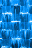 Blue waterfall Royalty Free Stock Image