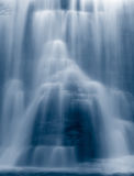 Blue waterfall Royalty Free Stock Photos