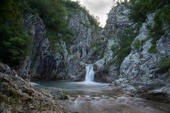 Blue waterfall, Bulgaria Stock Photos