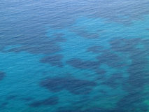 Blue waters of the coast of Chios Stock Photography