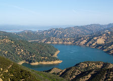 Blue waters of Lake Berryessa Royalty Free Stock Photography