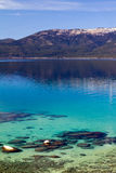 Blue Waters of Lake Tahoe Royalty Free Stock Photography