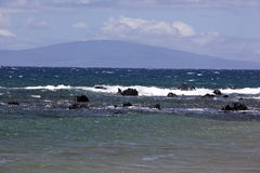 Blue waters off the coast of Maui Stock Photo