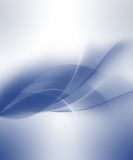 Blue wave. Abstract blue wave background future Royalty Free Stock Images
