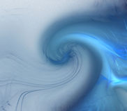 Blue wave Stock Image