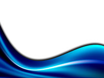 Blue wave Royalty Free Stock Photos