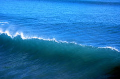 Blue wave. An blue wave Royalty Free Stock Photography