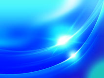 Blue wave abstract Royalty Free Stock Images