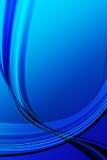 Blue wave abstract Stock Photos