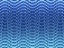 Blue wave background Royalty Free Stock Images
