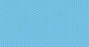 Blue wave abstract texture vector illustration