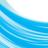 Blue wave background Stock Photography