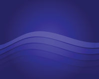 Blue Wave Background Stock Images