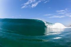 Blue Wave Crashing Swimming Water Royalty Free Stock Photo