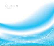 Blue wave design Royalty Free Stock Images