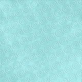 Blue Wave Embossed Pattern Stock Photo