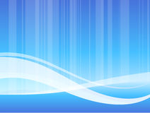 Blue wave pattern internet background Stock Photos