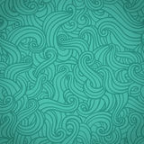 Blue wave pattern . Royalty Free Stock Photography