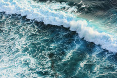Blue wave in sea Royalty Free Stock Photo