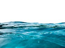 Blue wave surface ripple on background royalty free stock photo