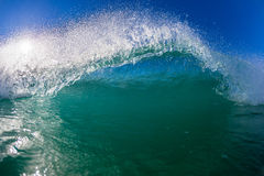 Blue Wave Swim Water Photo  Royalty Free Stock Photography