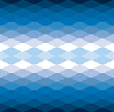 Blue wave water cool vector pattern background Royalty Free Stock Photography