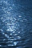Blue wavelet. Background Stock Photography