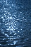 Blue wavelet Stock Photography