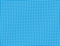 Blue Waves. Optical illusion of waves or ripples Stock Photos