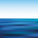 Blue waves Royalty Free Stock Image