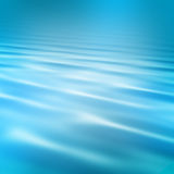 Blue waves. Smooth blue water waves background royalty free illustration