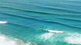Blue waves Atlantic Ocean Portugal stock footage