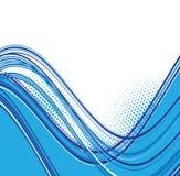 Blue waves background Royalty Free Stock Photo