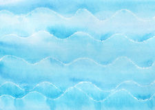 Blue waves background Stock Image