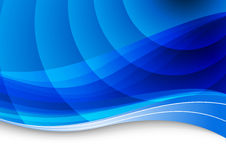 Blue waves background Royalty Free Stock Photography