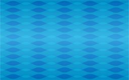 Blue waves geometric seamless repetitive vector pattern texture stock illustration