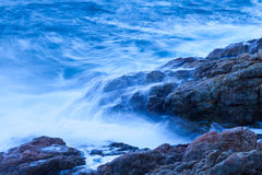 Blue waves Stock Photos