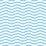 Blue waves sea ocean vector illustration abstract pattern background colorful wallpaper water royalty free illustration