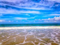 Blue Waves Royalty Free Stock Photo