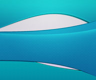 Blue Waves Simple Background Royalty Free Stock Photo