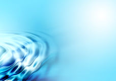 Blue wavy abstract background royalty free stock photo