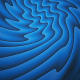 Blue wavy Stock Photography
