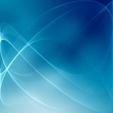 Blue Wavy Background Royalty Free Stock Photo